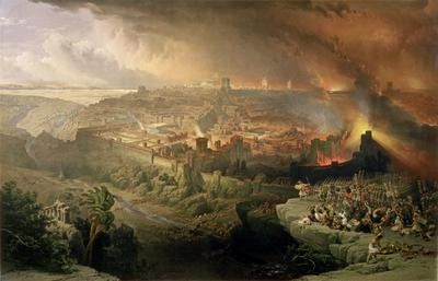 Jeruzalem gaat in vlammen op